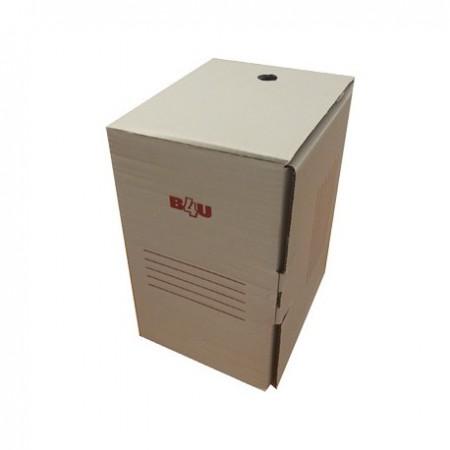 Cutie de arhivare, carton alb, 345 x 245 x 200 mm, B4U