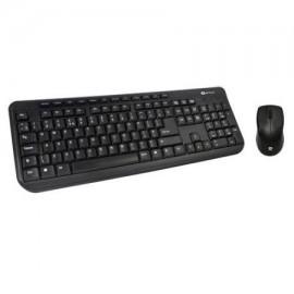 Kit tastatura + mouse Serioux MKM5100, cu fir, multimedia, negru, PS/2