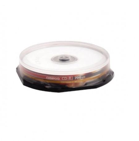 Omega CD-R 52X, 700Mb, 80 min, 10 buc/set