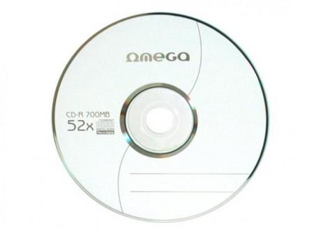Omega CD-R 700MB, 52X, plic