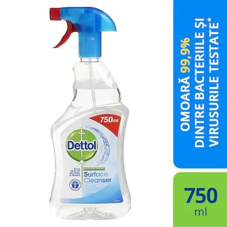 Solutie dezinfectant multisuprafete Dettol, 750 ml