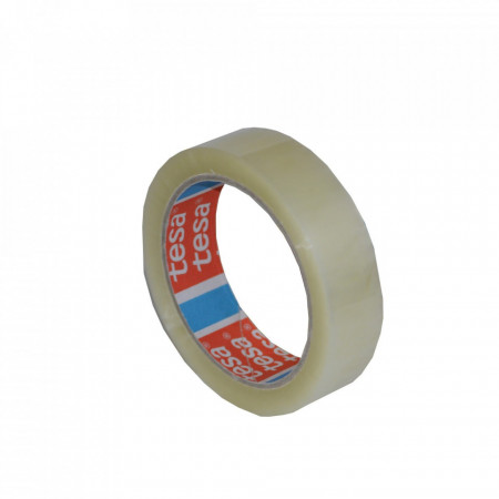 Banda Adeziva 66m x 25mm Acrilic Tesa Transparenta