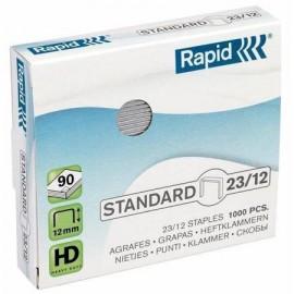Capse 23/12 RAPID Standard 1000 buc/cutie