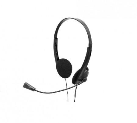 Casca cu microfon Spacer SPK-223, Chatting, Stereo, 3.5 mm