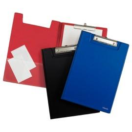 Clipboard dublu A4 ESSELTE coperti pp, plastifiat diverse culori