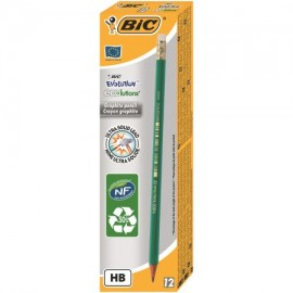 Creion Bic grafit ECO Evolution 655 cu Radiera
