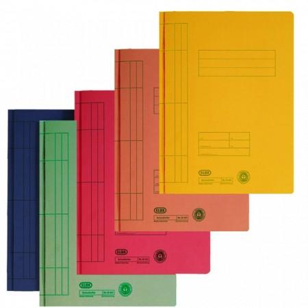 Dosar carton cu sina ELBA -diverse culori