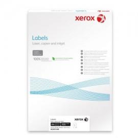 Etichete Xerox 1/A4, 210x297mm, colturi drepte, 100 coli/top