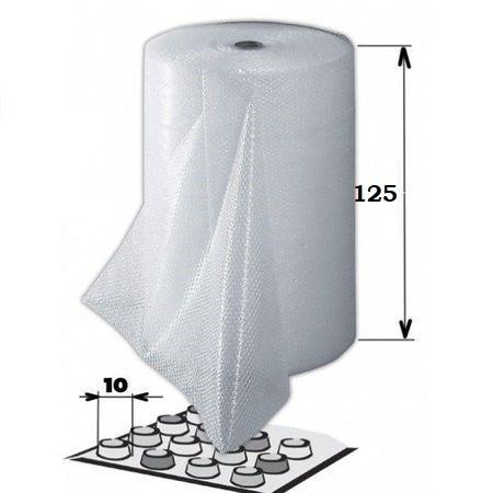 Folie cu bule aer 1m x 125ml x 70 gr/mp, 2 straturi