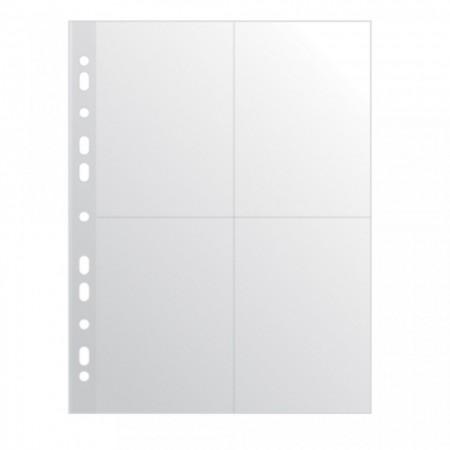 Folie protectie A4, pentru 8 fotografii, 60 microni, 10buc/set, DONAU