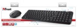 Kit Tastatura si Mouse Trust Modo wireless
