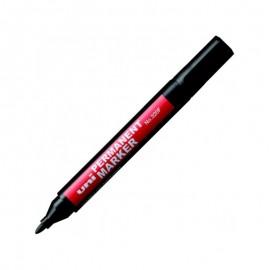 Marker permanent Uni-ball 320F varf rotund negru