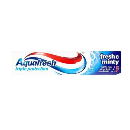 Pasta de dinti Aquafresh Fresh & Minty, 50 ml