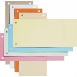 Separatoare carton pentru biblioraft, 190g/mp, 105 x 240 mm, 100/set