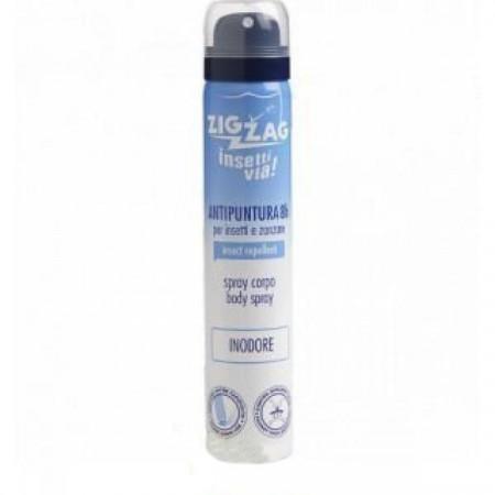 Spray corp impotriva tantarilor, zig zag, 100 ml, Inodor