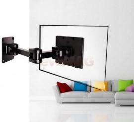 Suport perete 4World pt LCD 10-32'' VESA 75/100 incl/rotire brat max.25kg