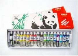 Tempera 18 culori /set, pe baza de apa Panda