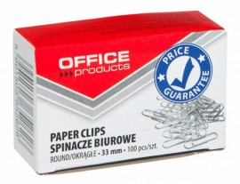 Agrafe metalice 33mm, 100/cutie Office Product