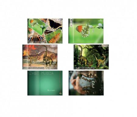 Caiet Geografie, Biologie, Muzica 170 mm x 240 mm Ecada