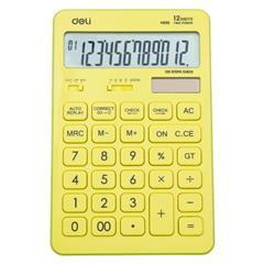 Calculator birou 12 digit Deli Touch 1541 roz