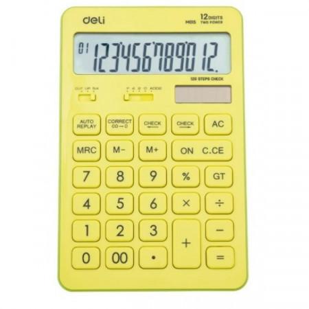 Calculator birou 12 digit Deli Touch 1551 vernil