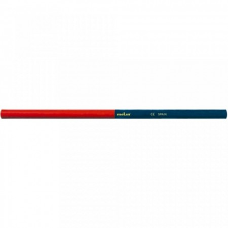 Creion bicolor, rosu-albastru, MOLIN