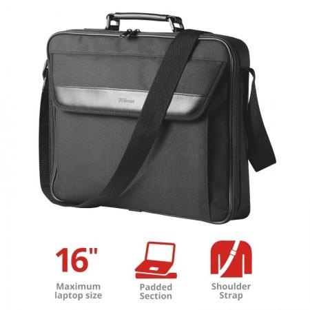 Geanta Laptop 16 Trust Atlanta Carry Black