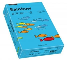 Hartie color Rainbow A4,culori pale, 80gr/mp,500 coli/top