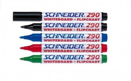 Marker whiteboard + flipchart Schneider Maxx 290, scriere 2 - 3 mm