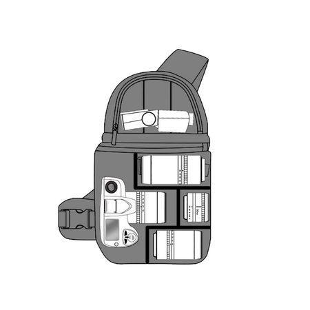 Rucsac Sumdex Xposure II pentru aparat foto DSLR