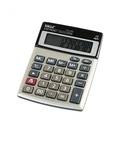 Calculator 12 digit, EAGLE TYCL1093RS