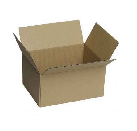 Cutie din carton pentru colete, 375 x 285 x 230 mm, kraft