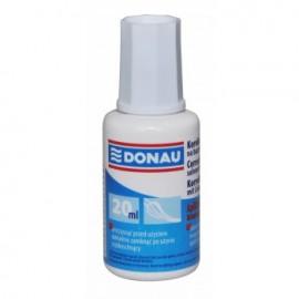 Fluid corector cu pensula, solvent 20ml, DONAU