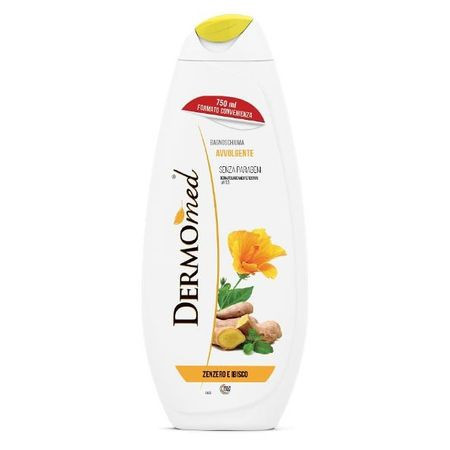 Gel de dus Dermomed Ghimbir Hibiscus, 750 ml