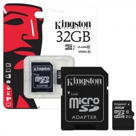 Micro Secure Digital Card Kingston, 32GB, Clasa 10