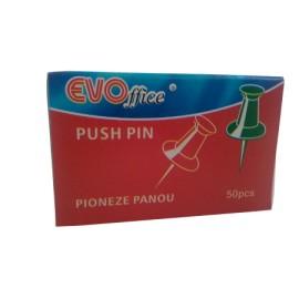 Pioneze Panou pluta colorate 50 buc/cutie