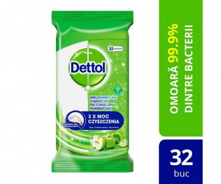 Servetele dezinfectante Dettol multisuprafete 40 buc