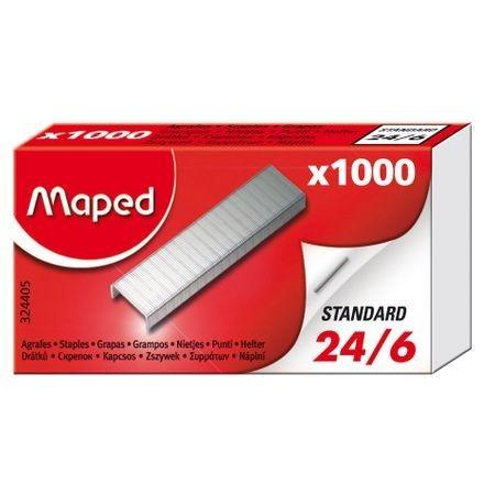 Capse MAPED 24/6, 1000 buc/cutie