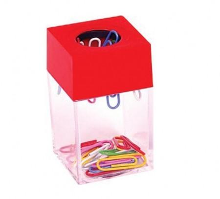Dispenser magnetic pentru agrafe metalice