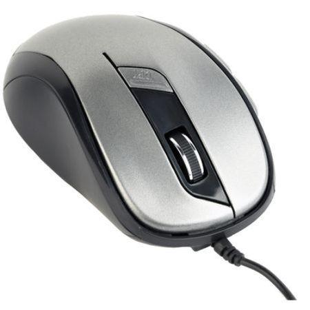 Mouse Optic Gembird 1600 Dpi, Usb, 6 butoane, Negru/Gri