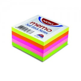 Notes adeziv Noki, 76x76 mm, 400 folii, Multicolor