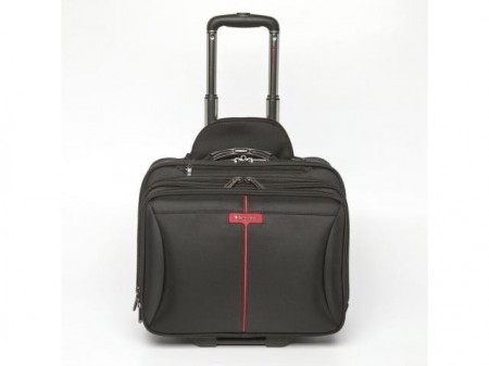 Troller Geanta 2 in 1, laptop 15.6'' Verbatim Frankfurt Black