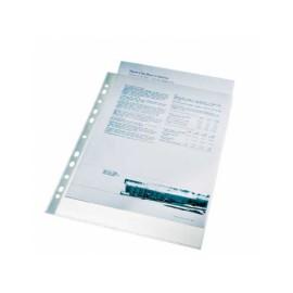 Folie protectie pentru documente, 75 microni, ESSELTE - cristal, 100folii/set