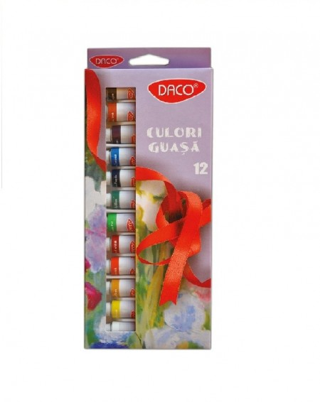 Guase Culori pastel ulei, 12buc/set Daco