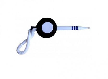 Pix cu suport autoadeziv si snur, EPENE - corp alb/albastru - scriere albastra