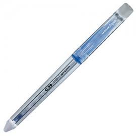 Roller UNI-BALL Signo UF-220-07 TSI 0,7 mm albastru, Scrie, Sterge, Rescrie + 1 roller gel UNI 170