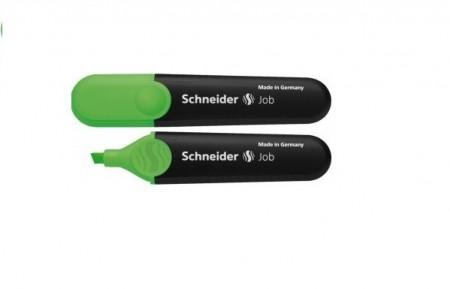 Textmarker SCHNEIDER Job, varf tesit 1 5mm - verde