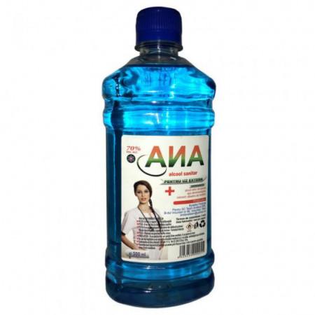 Alcool sanitar Ana 500ml 70% vol