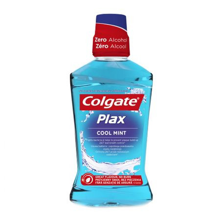 Apa de gura Colgate Plax Multi Protection Cool Mint, 250 ml