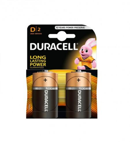 Baterii Duracell D/2 LR20/MN1300 DuraLock 2buc/set
